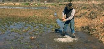 Flooding fields may fill aquifers